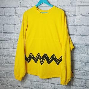 Long Sleeve Charlie Brown Peanuts shirt XL
